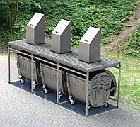 Система подземного сбора и хранения мусора (комплекс)