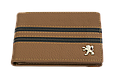Кожаная обложка для прав Carrs с логотипом PEUGEOT коричневая (PEG19), фото 2