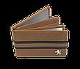 Кожаная обложка для прав Carrs с логотипом PEUGEOT коричневая (PEG19), фото 3