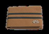 Шкіряна обкладинка для прав Carrs з логотипом HYUNDAI коричнева (HYN10), фото 2