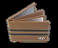 Кожаная обложка для прав Carrs с логотипом HYUNDAI коричневая (HYN10), фото 3