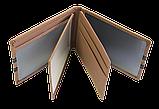 Шкіряна обкладинка для прав Carrs з логотипом HYUNDAI коричнева (HYN10), фото 4