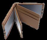 Шкіряна обкладинка для прав Carrs з логотипом HYUNDAI коричнева (HYN10), фото 5