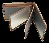 Шкіряна обкладинка для прав Carrs з логотипом HYUNDAI коричнева (HYN10), фото 6