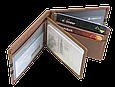 Кожаная обложка для прав Carrs с логотипом HYUNDAI коричневая (HYN10), фото 7