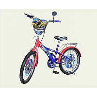 """Велосипед  красно-синий  14"""""""