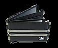 Кожаная обложка для прав Carrs с логотипом BMW черная (BM12), фото 3