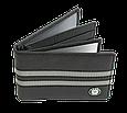 Кожаная обложка для прав Carrs с логотипом SKODA черная (SK22), фото 3