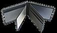 Кожаная обложка для прав Carrs с логотипом SKODA черная (SK22), фото 9