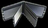 Шкіряна обкладинка для прав Carrs з логотипом SKODA чорна (SK22), фото 9