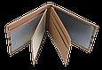 Кожаная обложка для прав Carrs с логотипом VOLKSWAGEN коричневая (VW04), фото 4