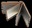Кожаная обложка для прав Carrs с логотипом VOLKSWAGEN коричневая (VW04), фото 6