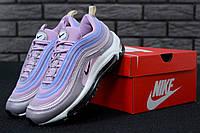 Кроссовки женские Nike Air Max 97 Pink/Blue/Gray Реплика
