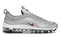 "Мужские Кроссовки Nike Air Max 97 ""Silver"" - ""Серебристые"" (Копия ААА+)"