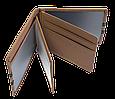 Кожаная обложка для прав Carrs с логотипом RENAULT коричневая (REN20), фото 5