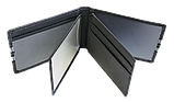 Кожаная обложка для прав Carrs с логотипом CHEVROLET черная (CH14), фото 9