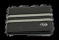 Кожаная обложка для прав Carrs с логотипом SUBARU черная (SUB21), фото 2