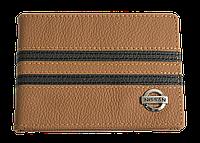 Кожаная обложка для прав Carrs с логотипом NISSAN коричневая (NIS09)