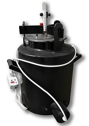 Автоклав для консервирования автомат Че22 электрический / газовый (черная сталь / 22 банки 0,5), фото 2