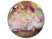 Декоративная тарелка Lefard Балерины 20 см 924-230