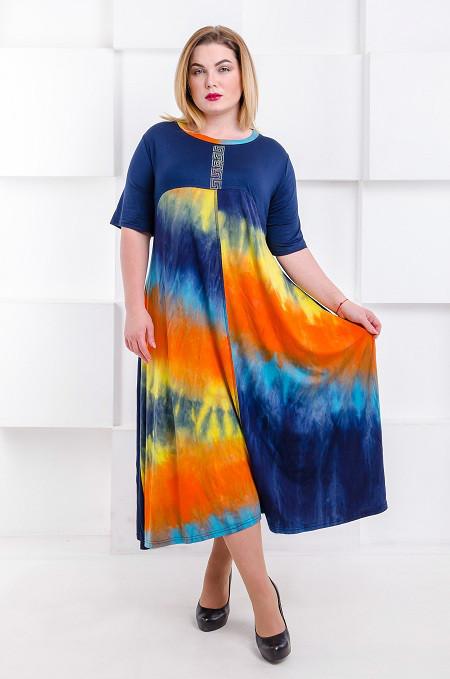 Купить Летнее Платье Большого Размера Интернет