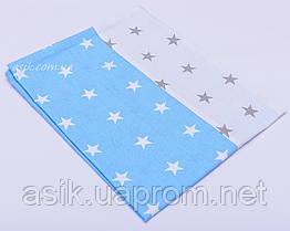 Детская наволочка с звёздами.