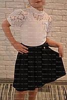 Блузка школьная, р.34,36,38.белая, фото 1