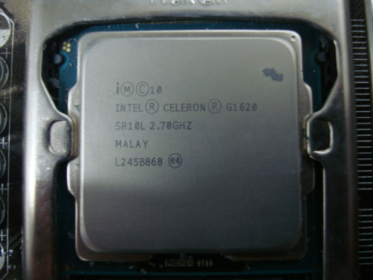 Процесор Intel Celeron G1620 2.7 Ghz socket 1155 з кулером