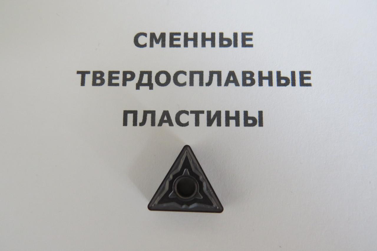 Твердосплавная пластина сменная TNMG 160408-HS PC9030 KORLOY