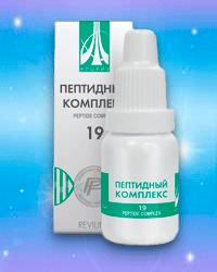 Жидкий пептидный комплекс № 19 (для метеозависимых и кардиобольных) жидкий