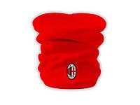 Горловик Милан Red, флисовый горловик для футбола (Реплика ААА+)