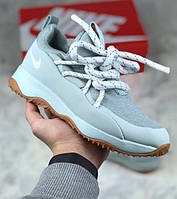 Женские кроссовки Nike City Loop Light Pumice/Summit White. Живое фото. Люкс реплика ААА+