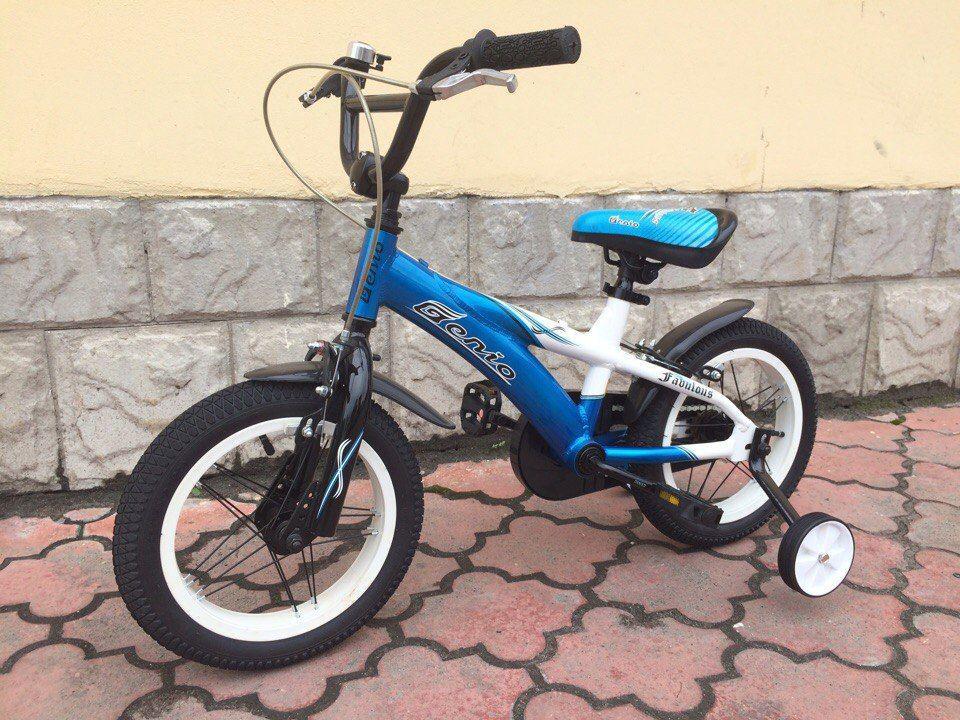 Детский велосипед GENIO14 FABULOUS BMX синий