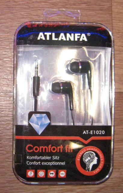 Наушники вакуумные ATLANFA AT-1020