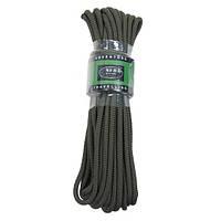Верёвка 7мм оливковая, 15м, MFH 27503B
