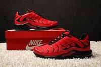 "Кроссовки Nike Air Max Tn+ ""Red/Black"". Топ качество! Живое фото (Реплика ААА+), фото 1"
