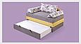 """Диван-кровать """"Лотос-2"""" 1,4, фото 3"""