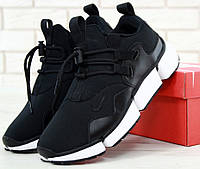 "Мужские кроссовки Nike Pocket Knife DM ""Black/White"". Живое фото. Топ реплика ААА+"