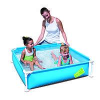 Детский каркасный бассейн Bestway 56217 (1,22 х 1,22 м, квадратный)