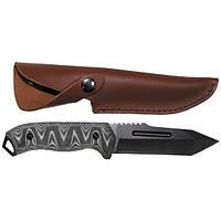 Нож с кожаными ножнами Fox Outdoor 44383
