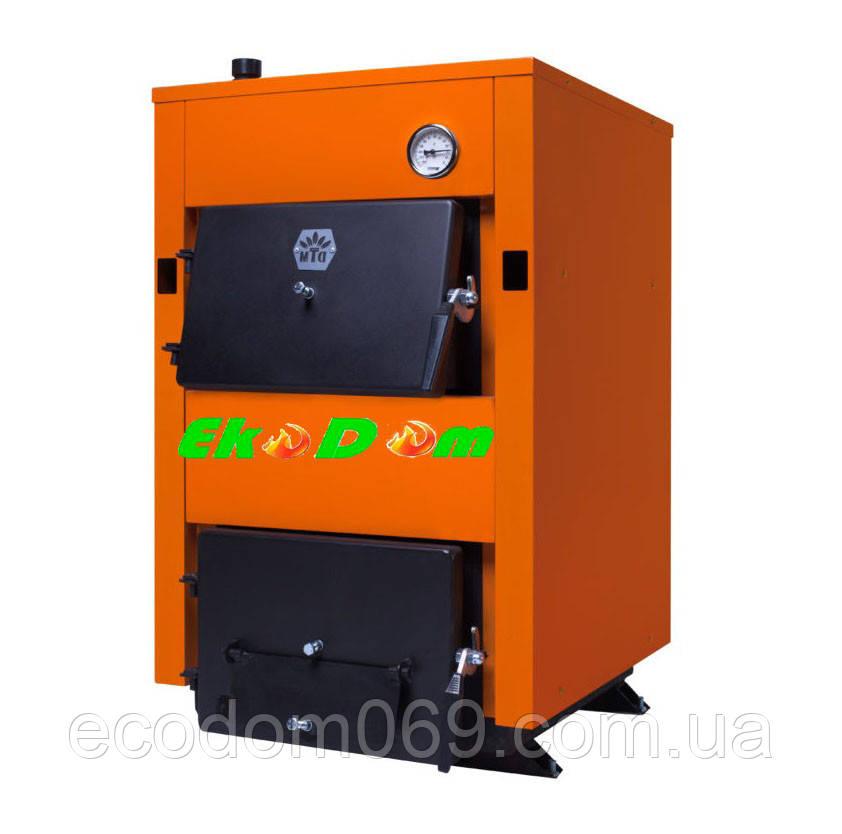Твердопаливний сталевий котел Донтерм Стандарт 17 кВт