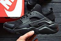 Кроссовки Nike Air Huarache Ultra Black. Живое фото. Топ качество! (Реплика ААА+), фото 1