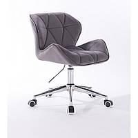 Кресло HR111K графитовый велюр, фото 1