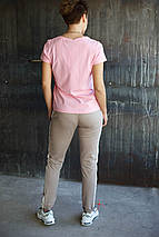 Футболка женская Adidas.Розовая , фото 3