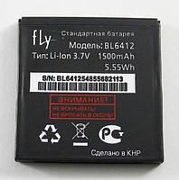 Акумуляторна батарея BL6412 для мобільного телефону Fly E158, IQ434 #3.H-7201-CS611A10-J00/3.H-7201-I630C0-J00/3.H-7201-CS611A10-J00