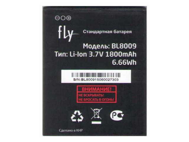 Аккумуляторная батарея BL8009 для мобильного телефона Fly FS451 # 60.01.0641