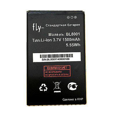 Акумуляторна батарея BL8001 для мобільного телефону Fly IQ436, IQ436i Era Nano 9, IQ4490  #60.01.0377/X3540F0023