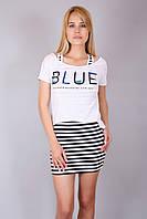 Платье двойка Blue, фото 1