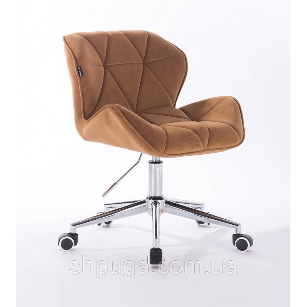 Кресло HR111K медовый велюр