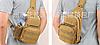 Сумка тактична плечова Кайот, фото 8